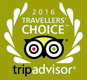 Tripadvisor Travellers Choice 2016 - Bath House Restaurant & Hotel
