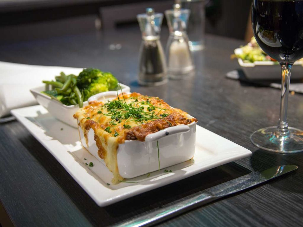 Fish Pie with Steamed Vegetables